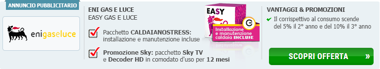 Easy Eni gas e luce