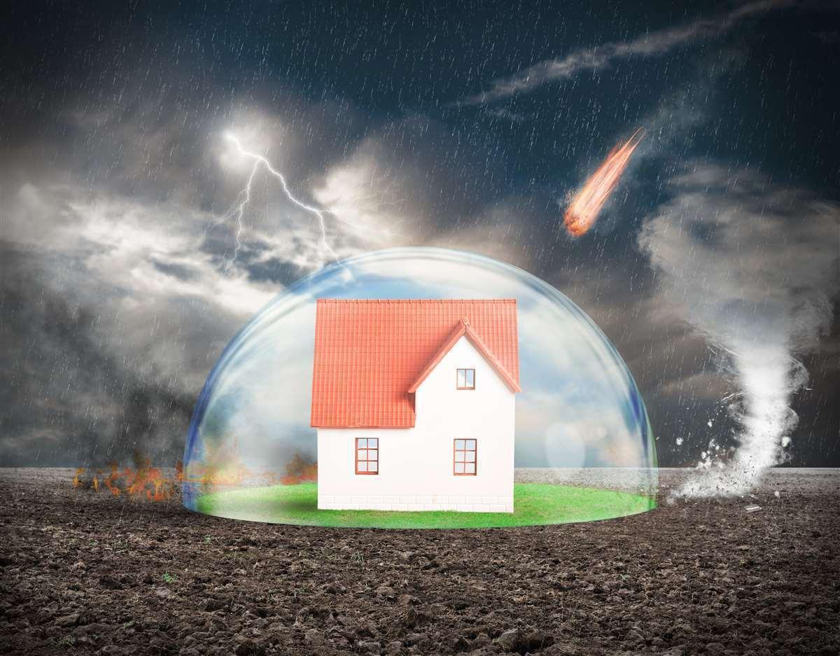 Case più sicure e senza rischi con un'assicurazione