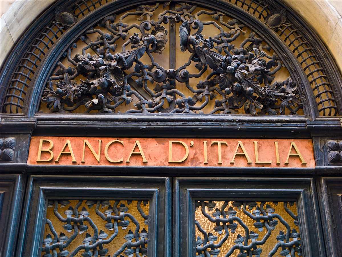 Banca d'Italia: Pil -9 pct nel 2020